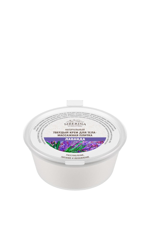 Solid body cream - massage tile